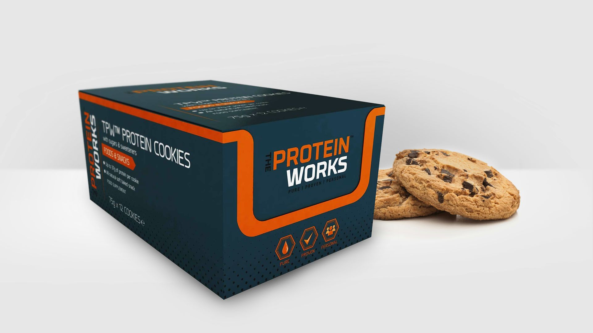 The Protein Works Packaging Design