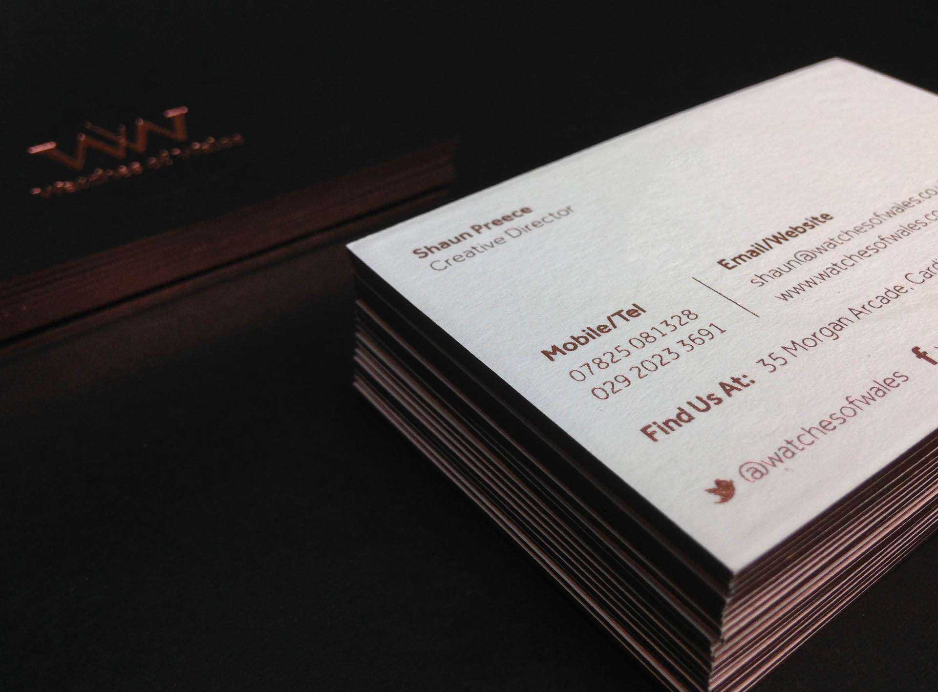 best Foil Business Card Designs